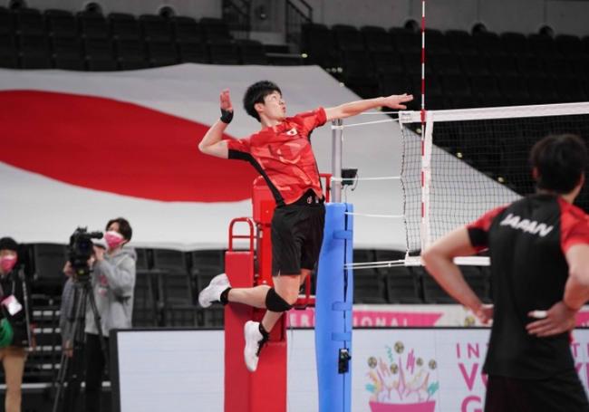 日本男排测试赛12人名单 西田有志小野寺太志领衔