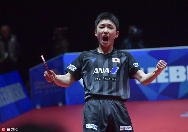 日本赛张本智和4-2李尚洙 晋级决赛与张继科争冠