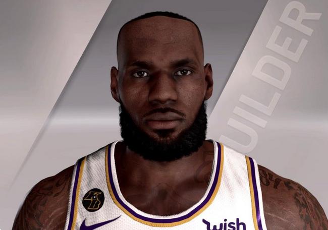 詹姆斯NBA2K髮際線搞怪 網友:老詹該去植髮了