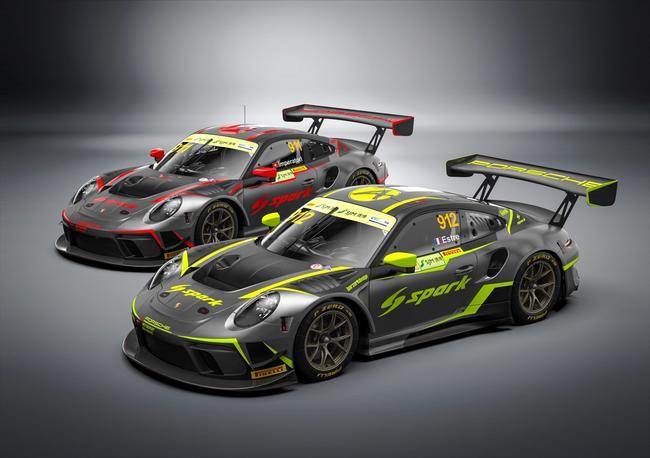 亚历山大(瑞士)和Kévin Estre(法国)将分别驾驶绝对车队的911号及912号保时捷 911 GT3 R