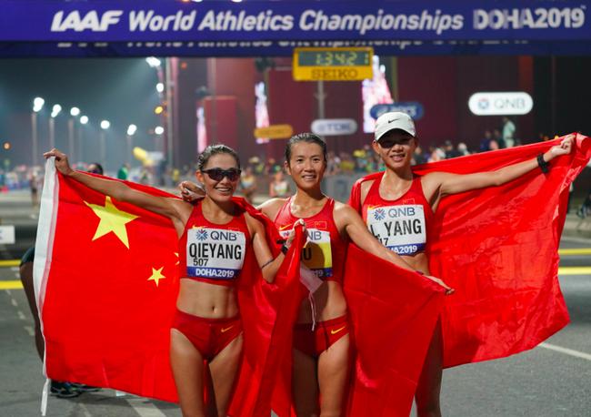 中国田径队创26年来最佳战绩