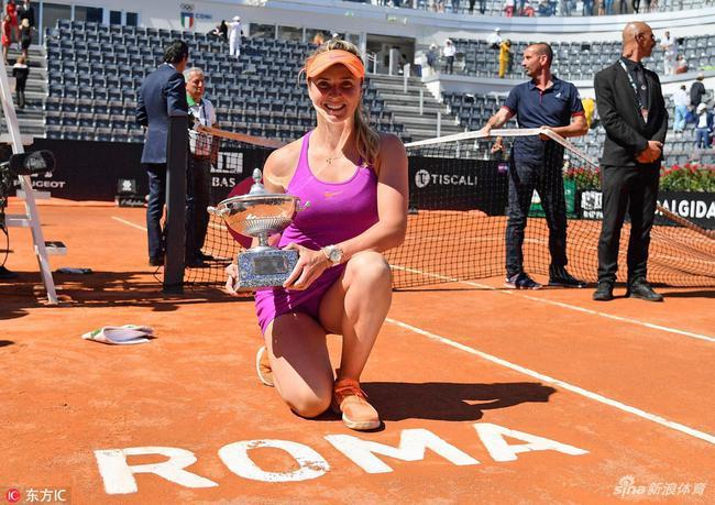 女单卫冕冠军斯维托丽娜