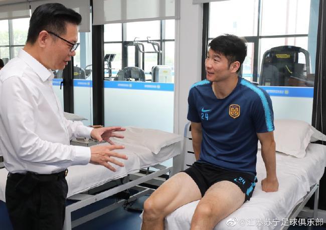 苏宁宣布吉翔左膝韧带2级损伤 将康复4-6周时间