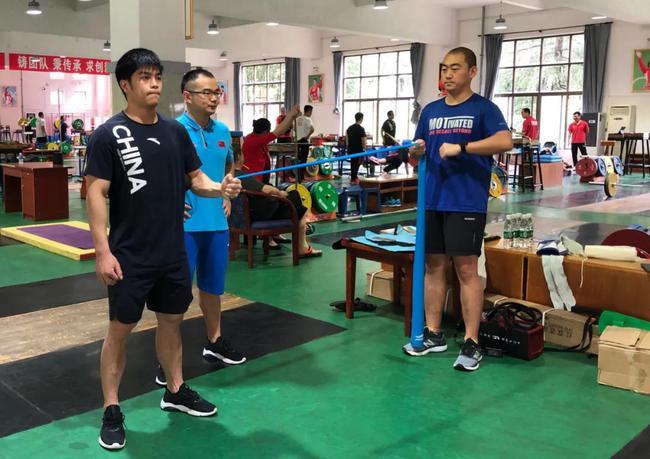 男举国家队夏训强化夺金能力 体能仍是重要内容