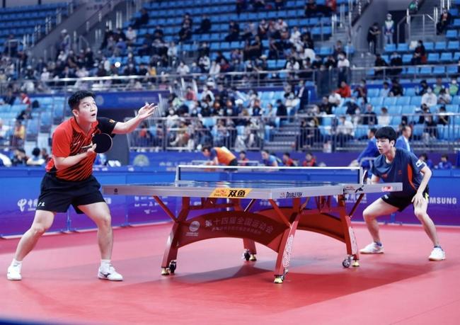 全运会乒乓球项目开战 刘诗雯率广东女团获胜