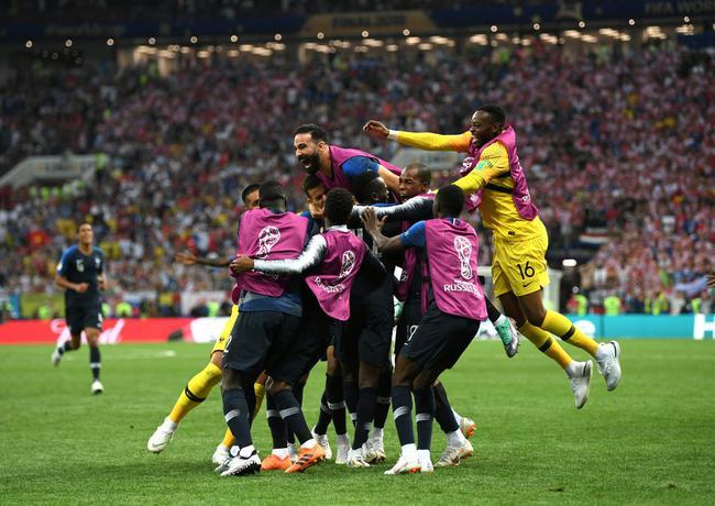 法国是冠军