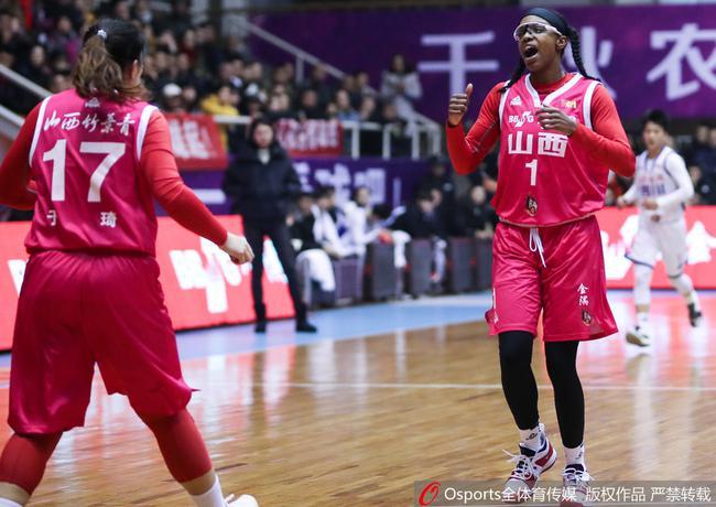 山西女篮季后赛遇到了最强劲的对手