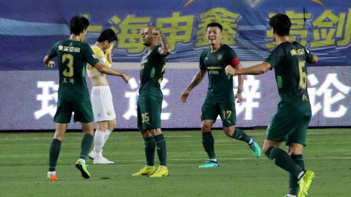 2018中甲第18轮:上海申鑫1-3浙江绿城