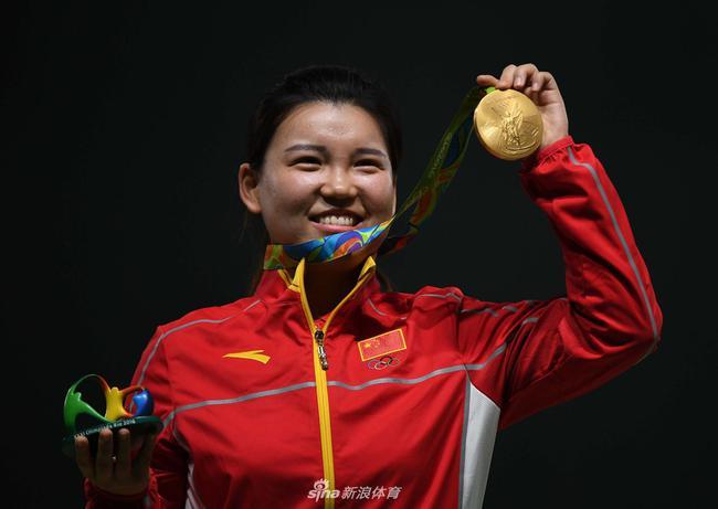 里约奥运会张梦雪夺得中国首金