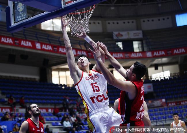 中国男篮客场击败叙利亚