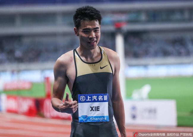 谢文骏李玲30岁迎来职业新高 在复制苏炳添奇迹?