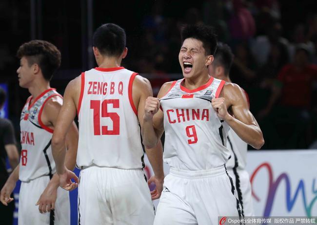 中國3X3男籃目前積分排名世界第三位