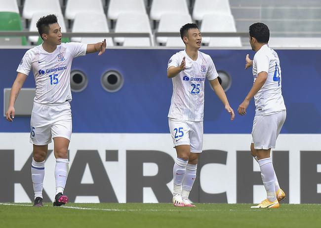 上海申花2-1战胜珀斯光荣