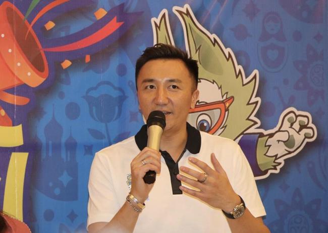 长沙籍的前国脚、现任华南EMBA足球形象大使刘成对足球梦发表看法