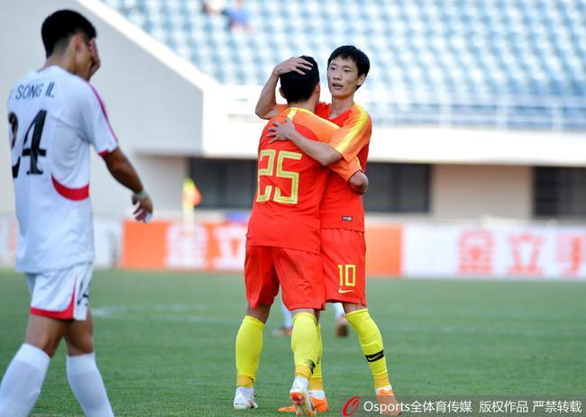 熱身-黃紫昌梅開二度+助攻戴帽 U23國足6-2朝鮮