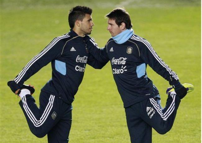 曼城杀器梅西看了直叹气 他若在阿根廷这么强…