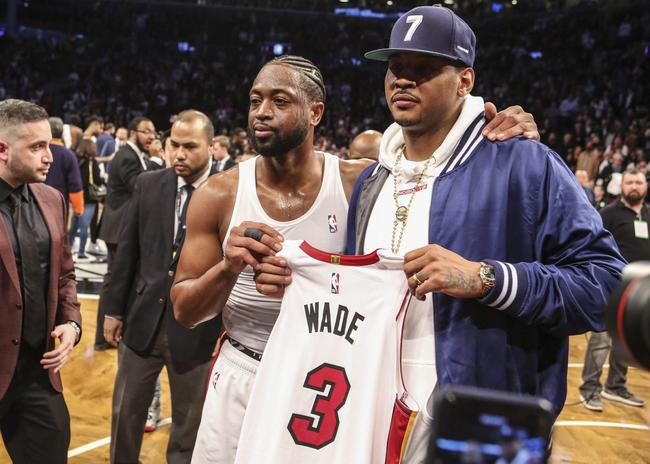 韦德:有NBA球队需要安东尼 但湖人不会签下他