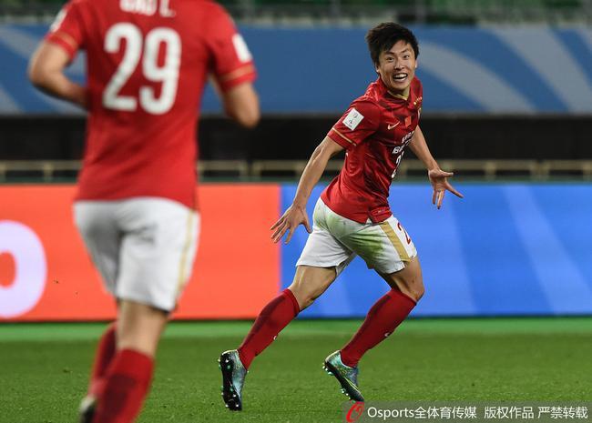 郑龙曾在世俱杯上破门