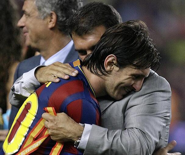 前主席:梅西想要能拿欧冠阵容 巴萨一直对他撒谎