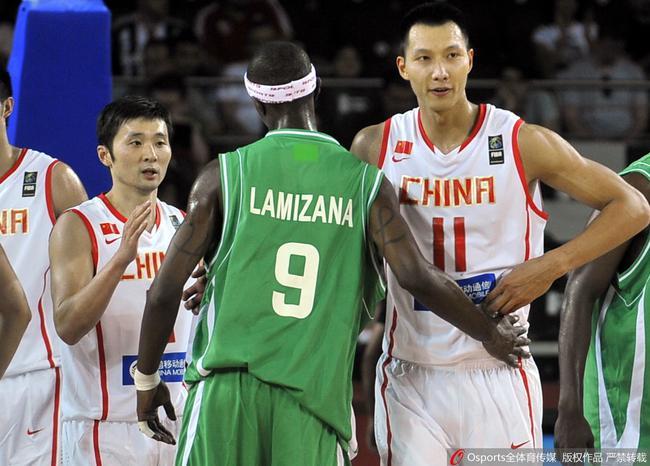 中国男篮2010年在科特迪瓦帮助下小组出线