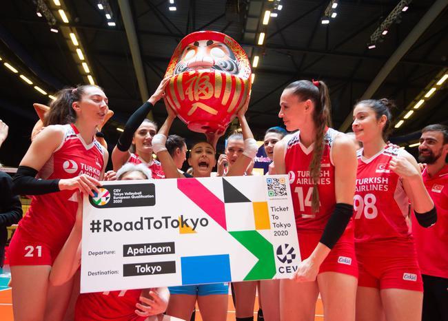 土耳其女排获奥运资格