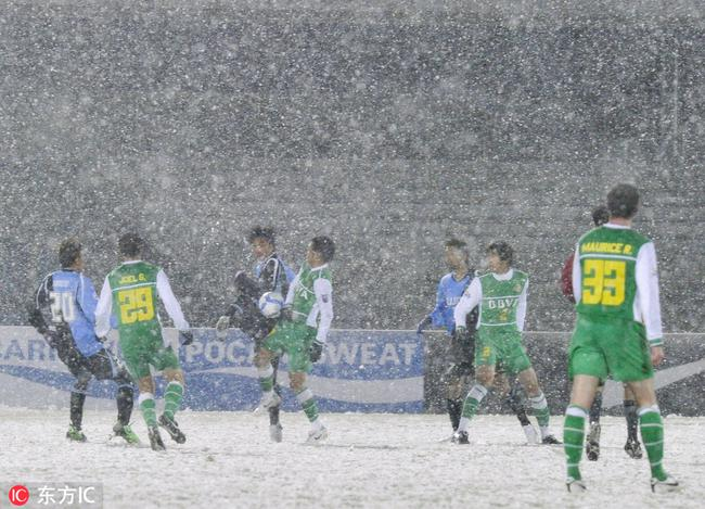 国安雪夜战川崎