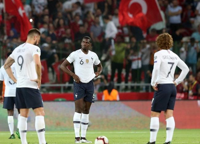 博格巴评法国输球:我的努力没奏效 全队得反思