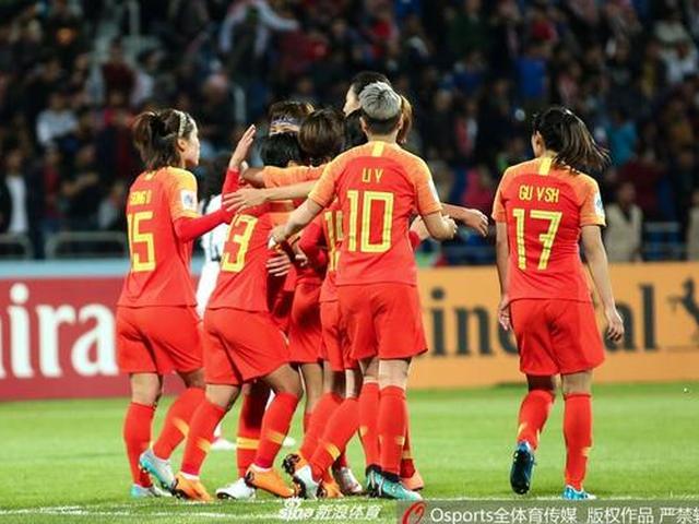 中国女足8-1进亚洲杯四强