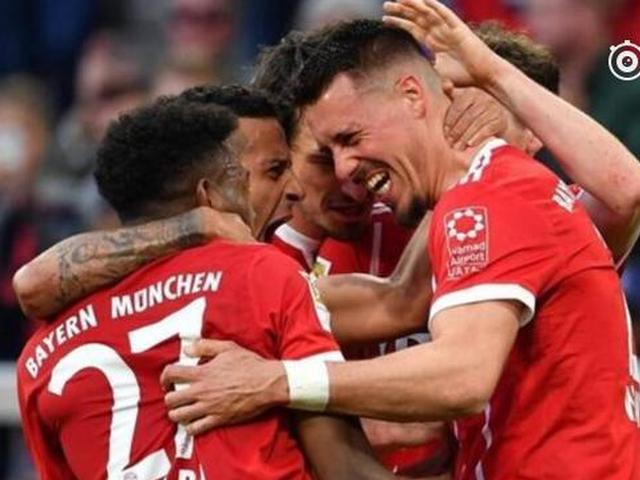 视频-穆勒2传阿拉巴轰世界波 拜仁主场5-1逆转门兴
