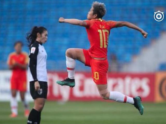 中国女足3-1胜泰国
