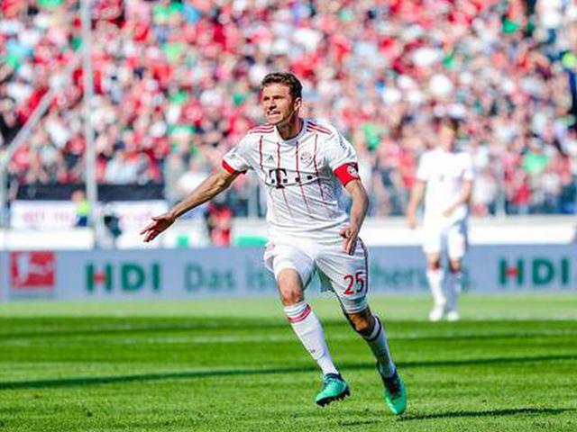 视频集锦-穆勒传射莱万破门 拜仁客场3-0汉诺威