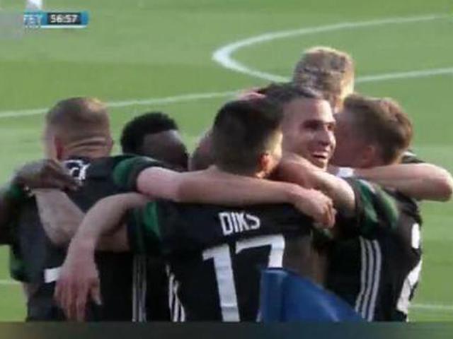 视频-范佩西挑射建功 费耶诺德捧起荷兰杯