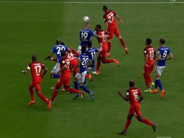 视频集锦-沙尔克1-0法兰克福 夺德甲亚军进军欧冠