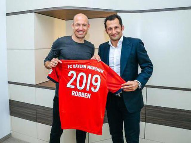 拜仁与罗本续约至2019