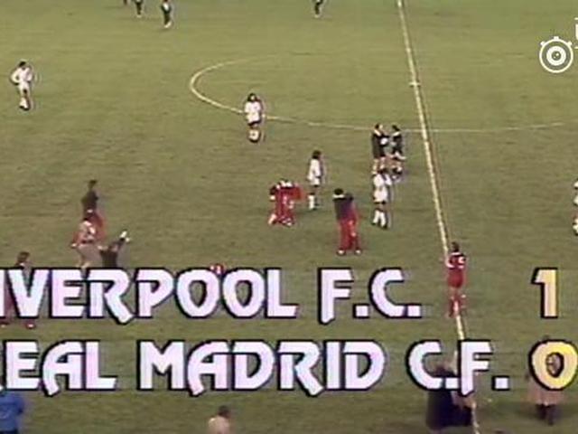 1981年欧冠利物浦1-0皇马