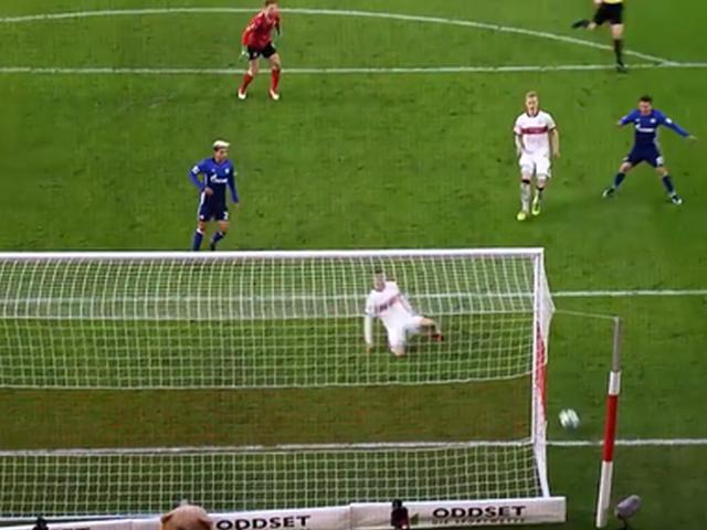 视频-那些年错过的进球!盘点本赛季德甲10大空门不进