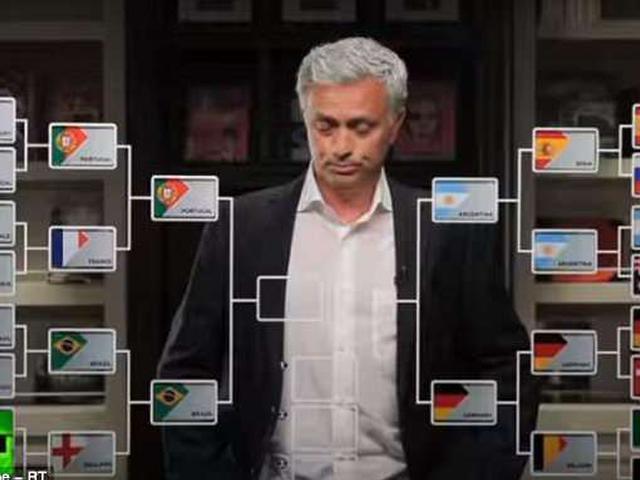视频-穆里尼奥预测世界杯4强 葡萄牙将战胜法国?