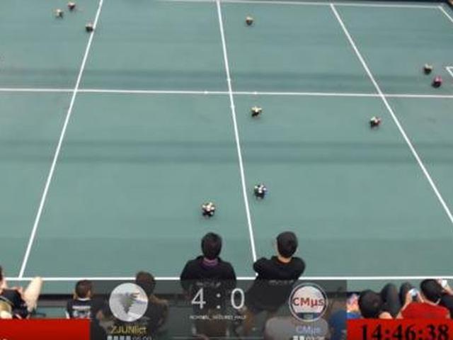 中国勇夺机器人世界杯冠军 4:0大胜美国队