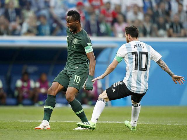 米克尔与梅西的宿命对决 尼日利亚不只是陪衬
