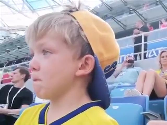 伊布替补终登世界杯 贝里出场小儿子喜极而泣