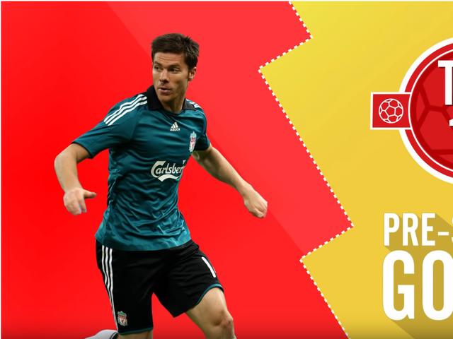 视频-利物浦官方回顾热身赛10佳球 阿隆索本特克上榜