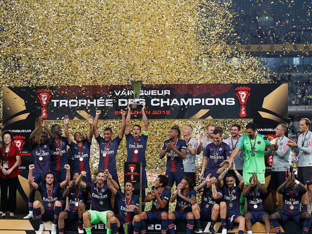 视频-天使双响内马尔替补 巴黎4-0夺法国超级杯6连冠