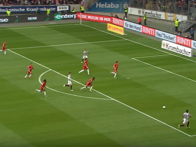 视频-回顾拜仁VS法兰克福10大进球 里贝里倒钩破门