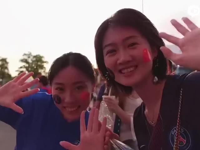 视频-巴黎圣日耳曼2018亚洲行 中国女球迷约会内马尔