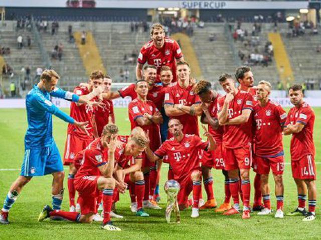 视频集锦-莱万上演帽子戏法 拜仁5-0七捧德国超级杯