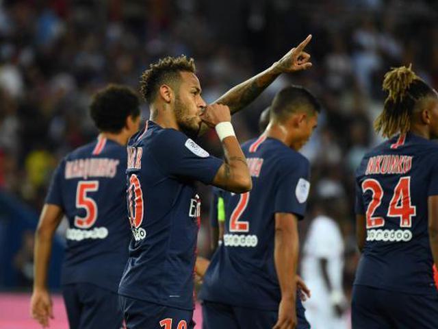 视频集锦-门将送礼内马尔破门 巴黎3-0完胜迎开门红