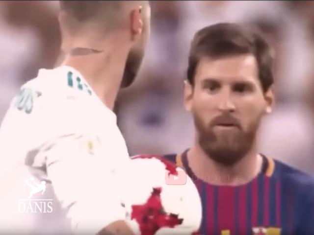 视频-回顾足坛那些冲突时刻 拉莫斯抛球戏耍梅西