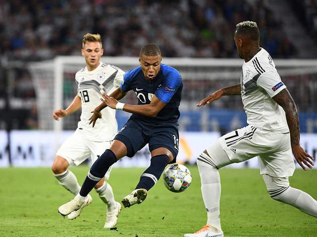 视频集锦-欧国联德国0-0法国 阿雷奥拉首秀屡献神扑