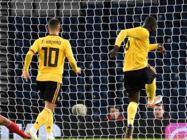 视频集锦-阿扎尔传射 卢卡库进球 比利时4-0告捷