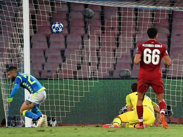 视频-因西涅绝杀 利物浦客场不敌那不勒斯三场不胜